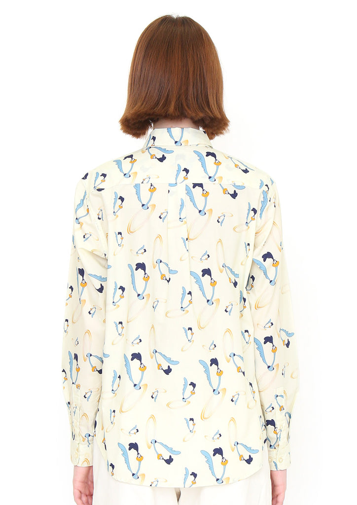 Looney Tunes Long Sleeve Shirt (Looney Tunes_Road Runner Pattern)