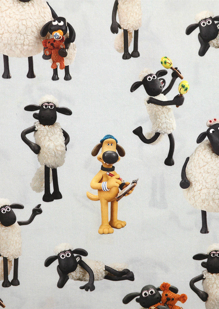 Shaun the Sheep Long Sleeve Shirt (Shaun the Sheep_Shaun and Friends Pattern)