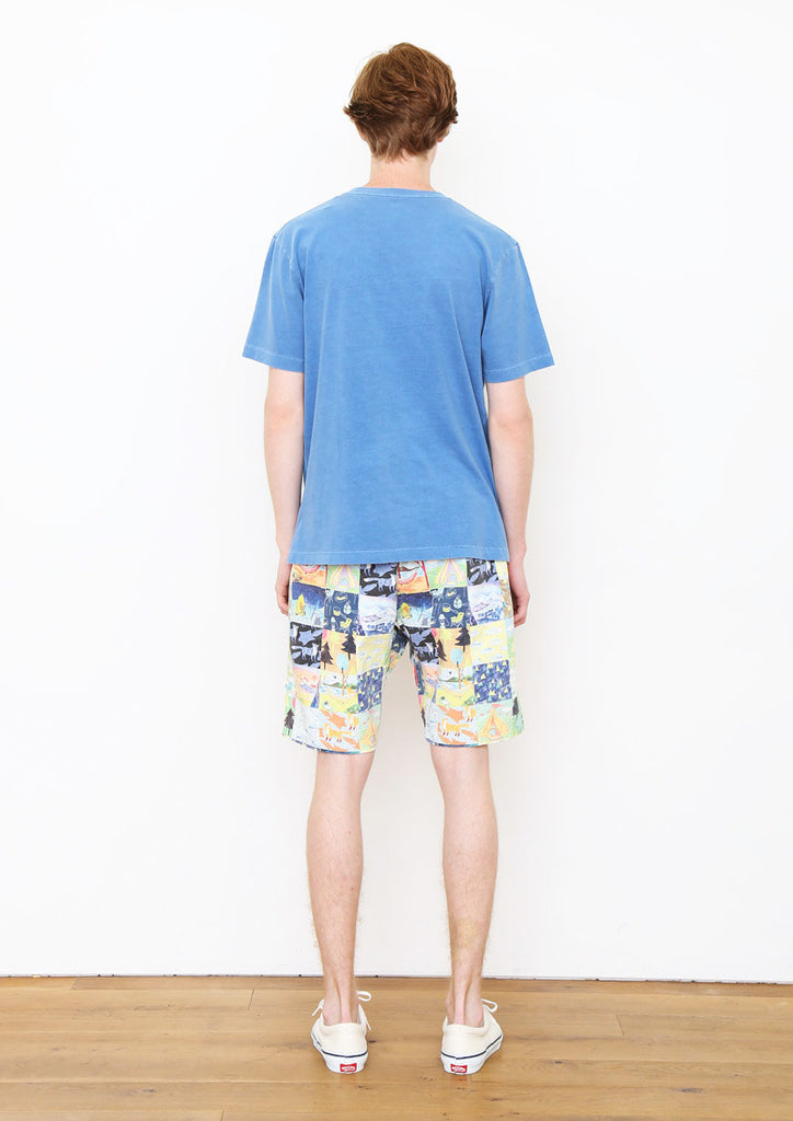 Multi Pattern Short Pants A (Patchwork of Camp)