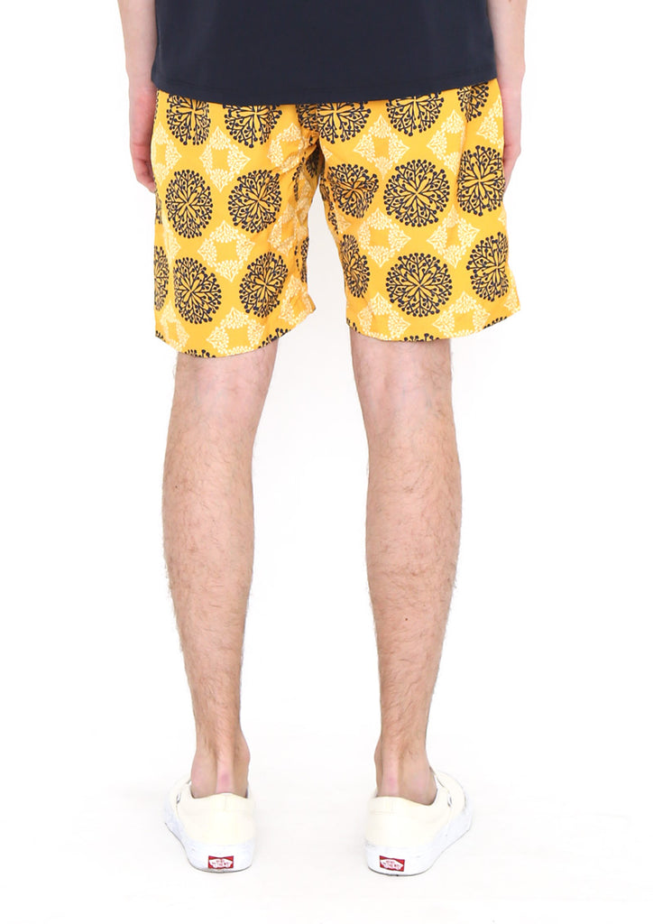 Multi Pattern Short Pants (Circles of Branches)