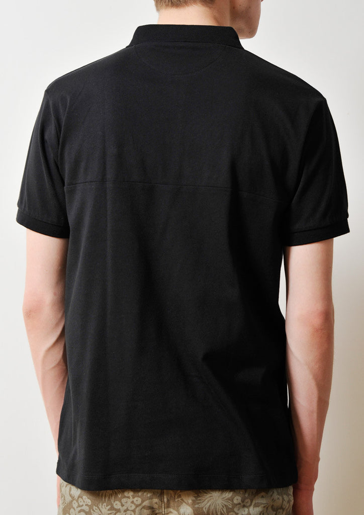 MA1 Pocket Short Sleeve Polo Shirt (Black)