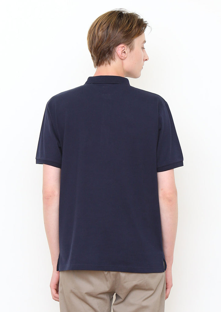 Woven Pocket Short Sleeve Polo Shirt (BS Pull)