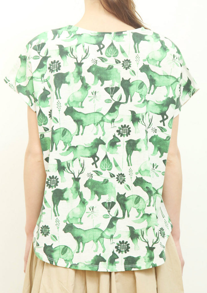 Pocket Box Tee (Animal Shadow)