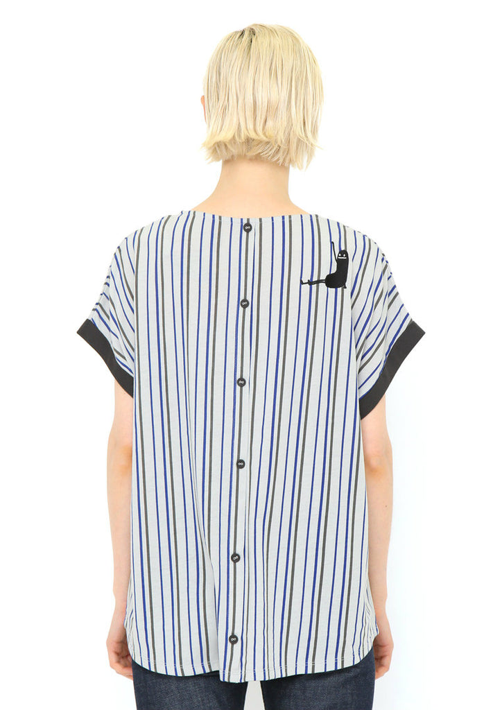 Back Button Pocket Tee (Lifting BS)
