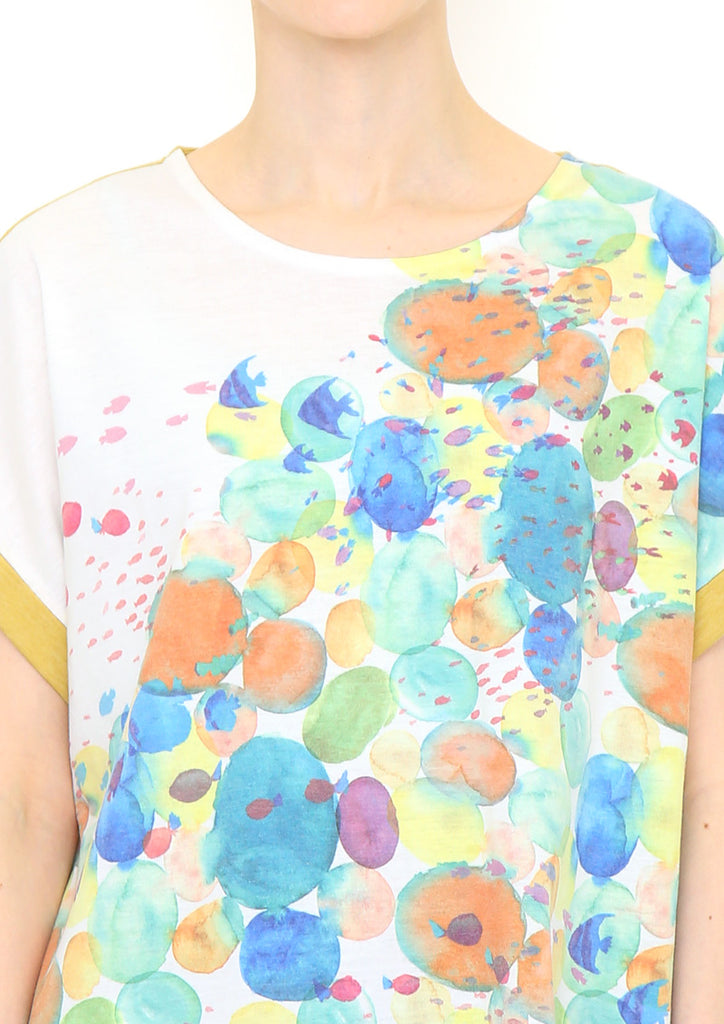 Back Button Tee (Find Tropical Fish)