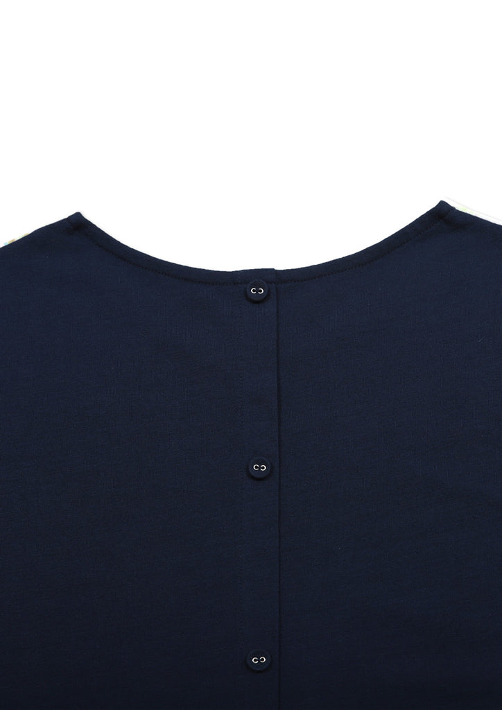 Back Button Tee (Sunbeams)