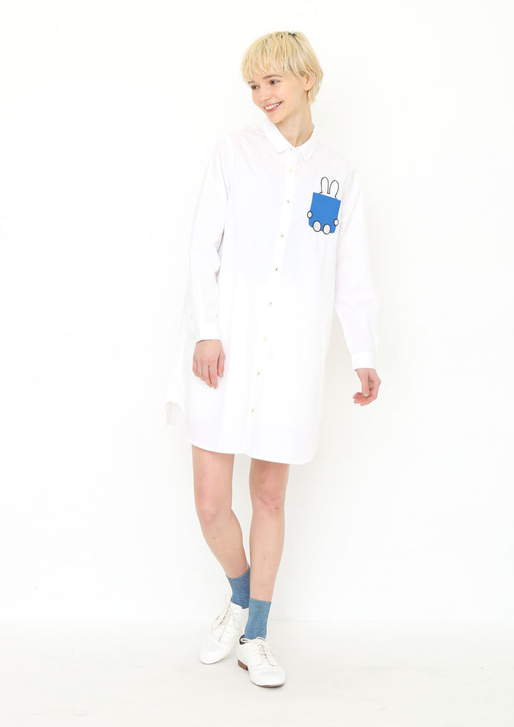 miffy Long Sleeve Shirt One-Piece (miffy_Book and miffy)