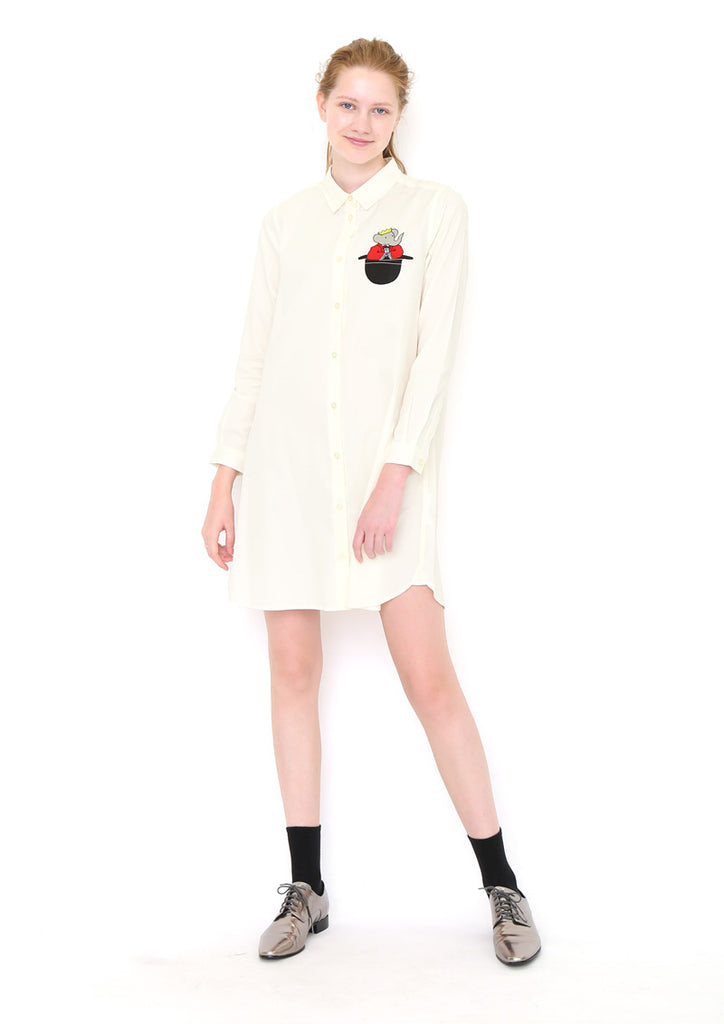 BABAR Long Sleeve Shirt One-Piece B (BABAR_Babar Hat)