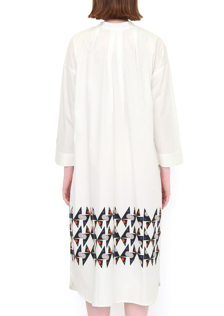 2Way Long Sleeve Shirt One-Piece (Symmetry Buterflies)