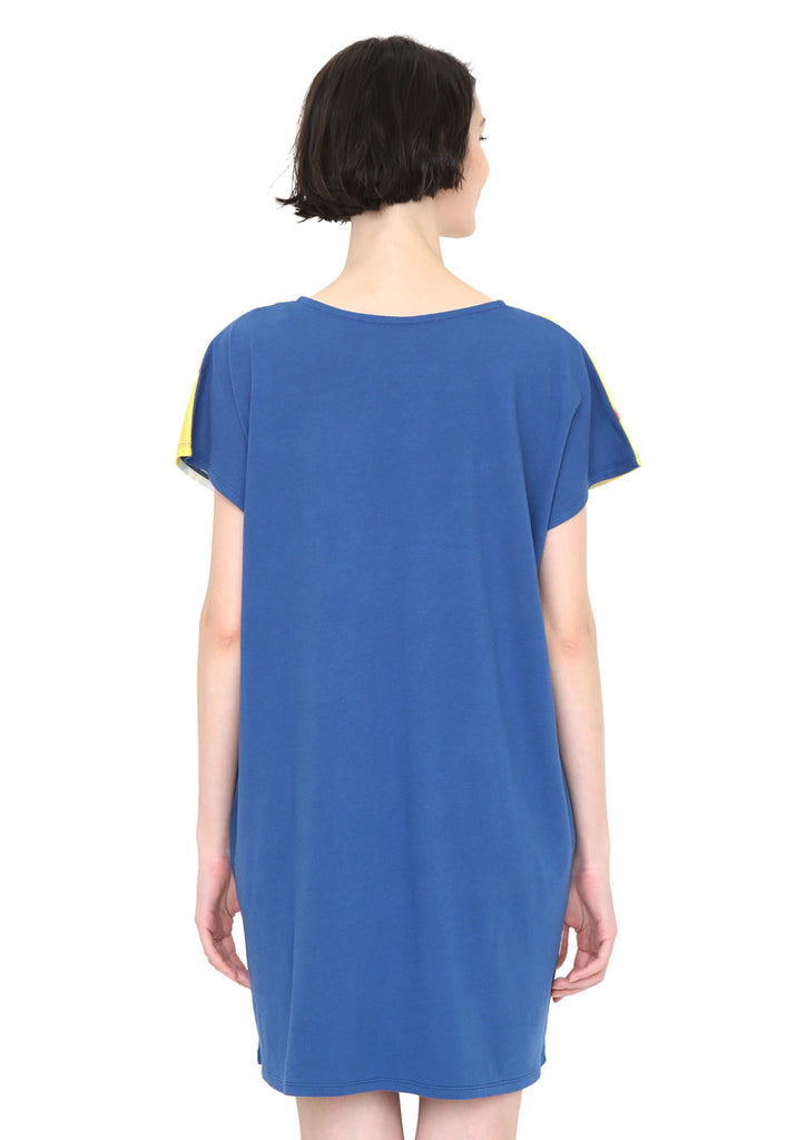 Ryoji Arai Round Neck Short Sleeve One-Piece (Ryoji Arai_Taiyou Organ Sea)