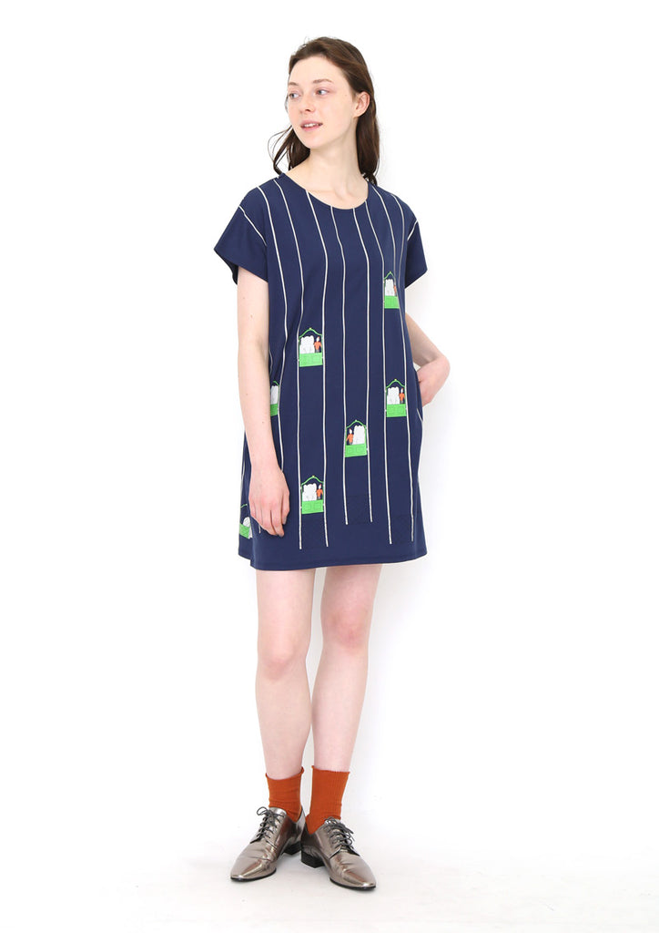 BABAR Short Sleeve One-Piece (BABAR_Elevator)