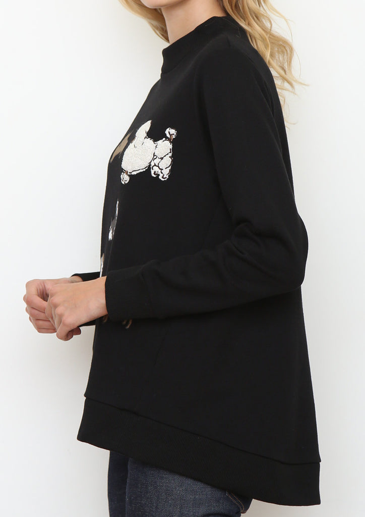 Animals Long Sleeve Sweat Tunic (Dog Runway)