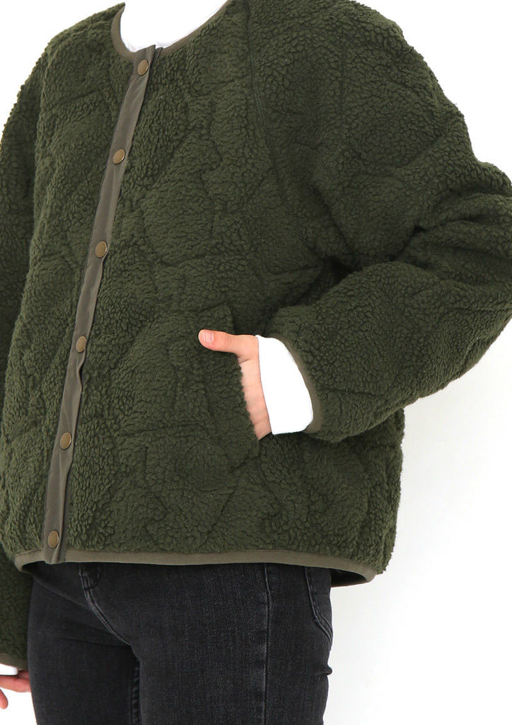 Reversible Quilting Boa Jacket (Zoological Gardens)