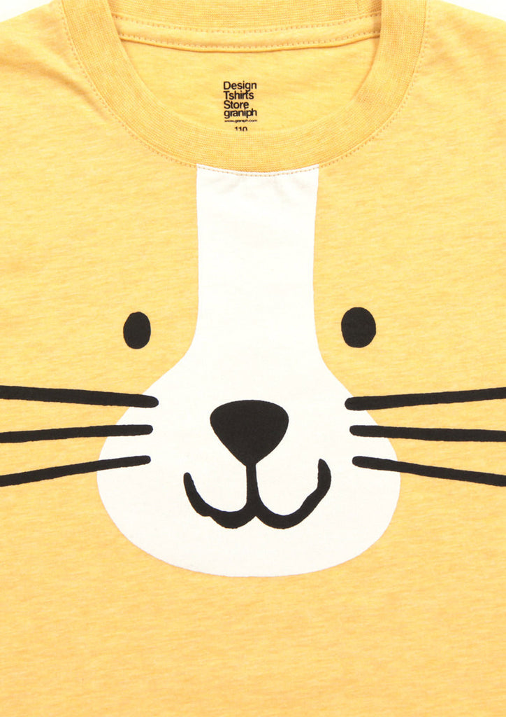 Zoom Face Short Sleeve Tee (Cat Face)