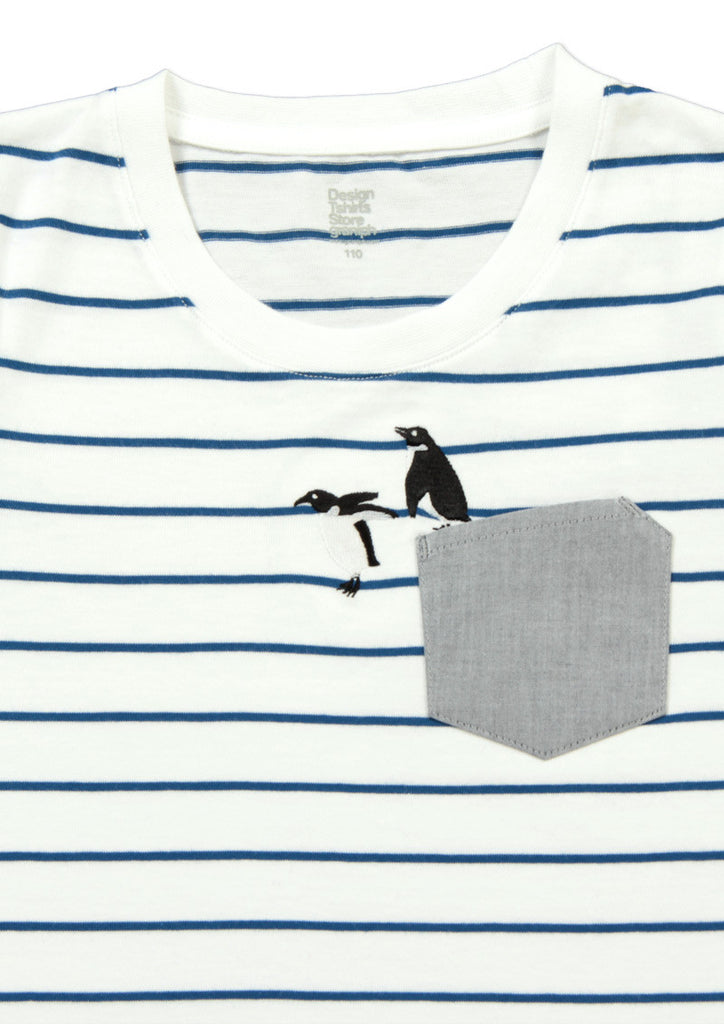 Pocket Design Short Sleeve Tee (Penguin Dive)