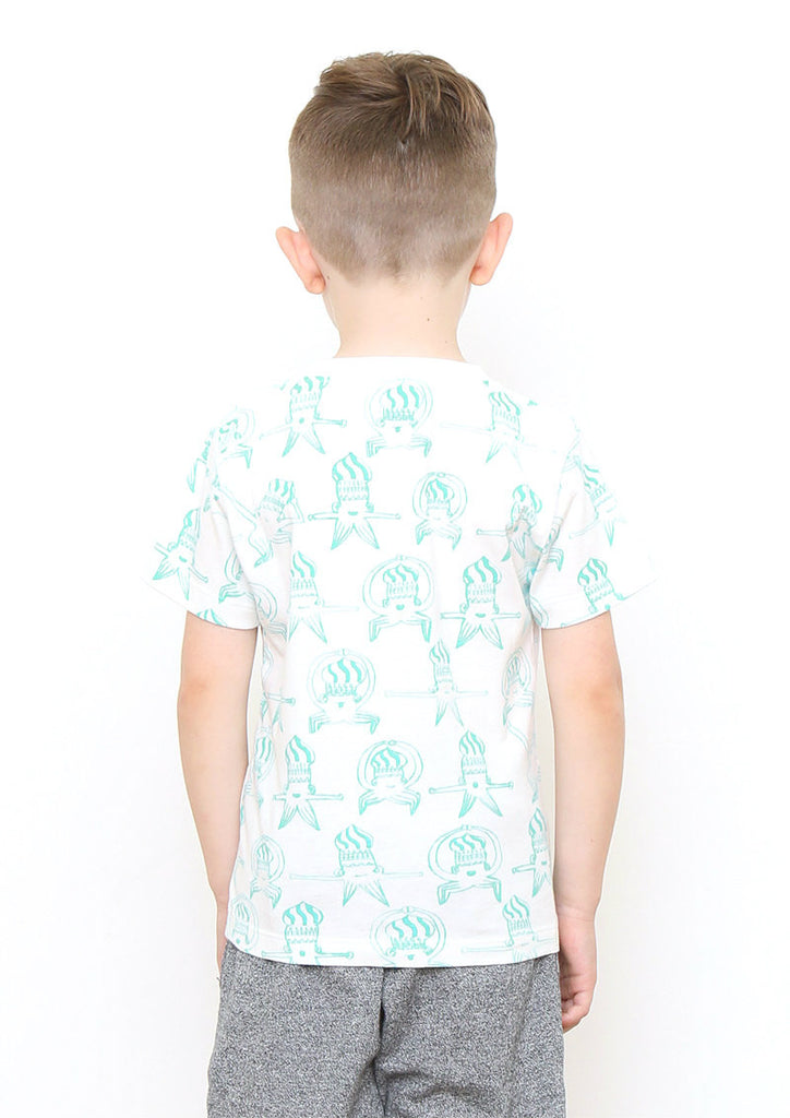 Ika Taro Pattern (THE CABIN COMPANY Short Sleeve Tee)