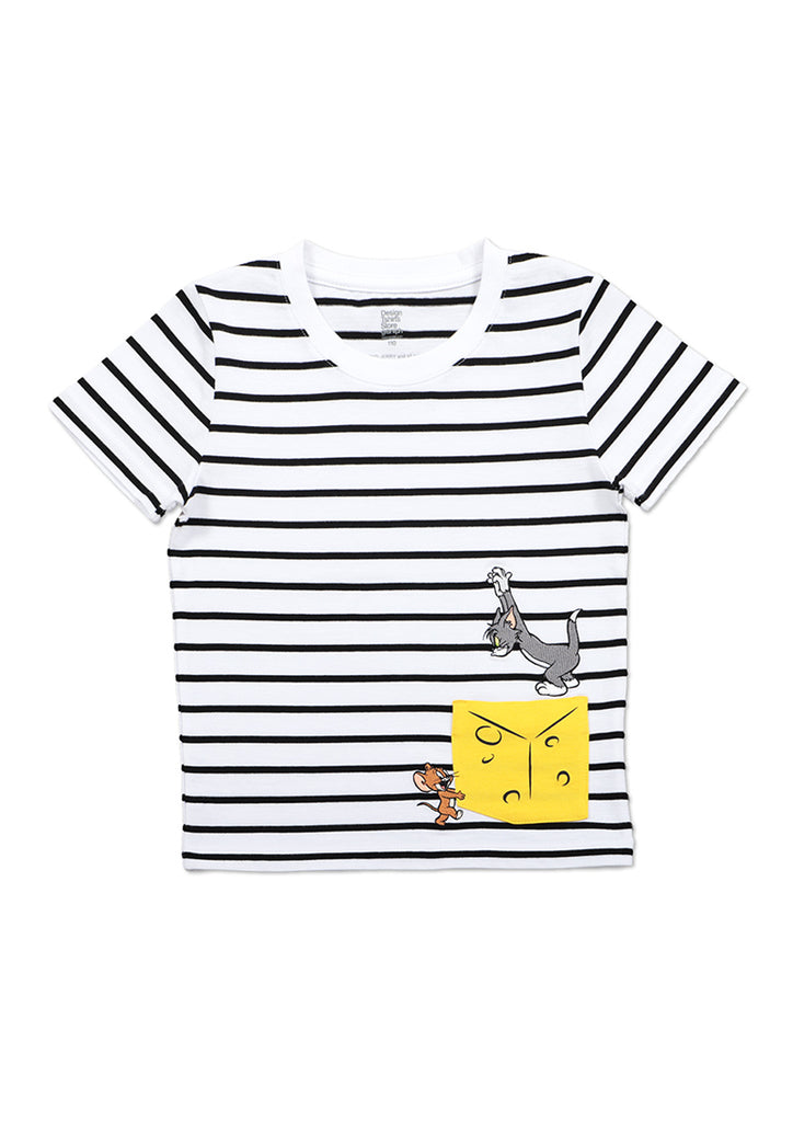 Tom and Jerry Short Sleeve Tee (Tom and Jerry_Big Cheese)