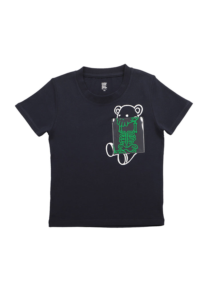 Clear Pocket Short Sleeve Tee (X Ray CB)