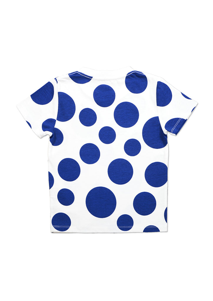 GeGeGe no Kitaro Short Sleeve Tee A (GeGeGe no Kitaro_Medama Oyaji and Dots)