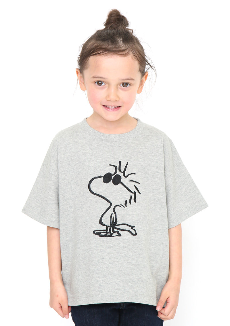 Peanuts Big Short Sleeve Tee (Peanuts_Woodstock Sunglasses)