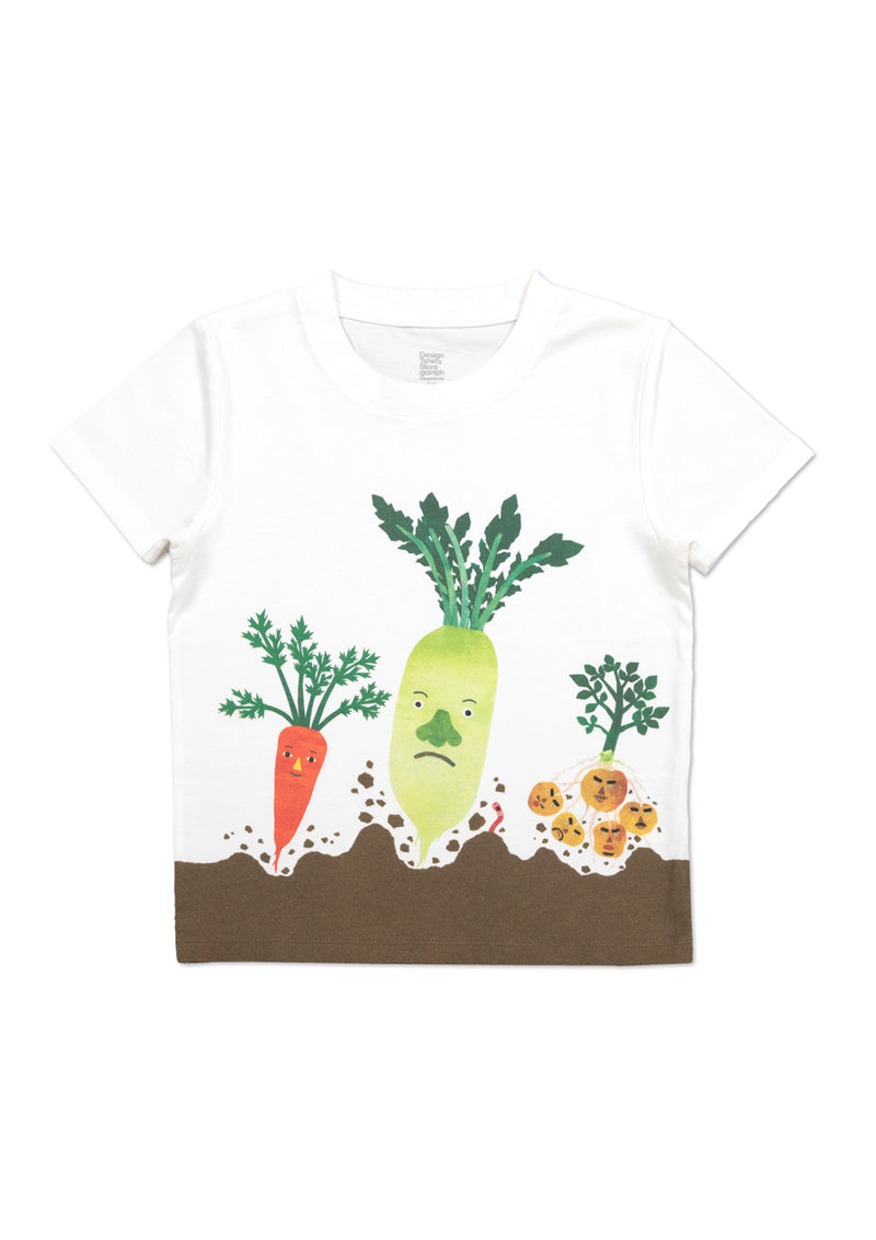 tupera tupera Short Sleeve Tee (tupera tupera_Mr. Vegetables)