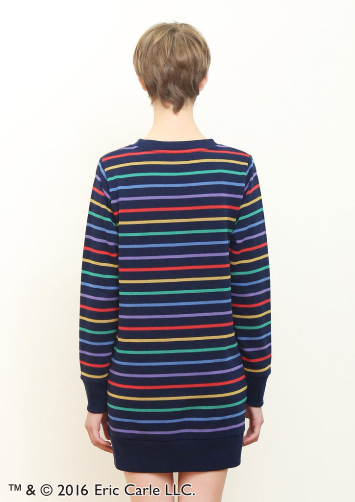 Grown Border (Eric Carle Long Sleeve Sweat One-Piece)