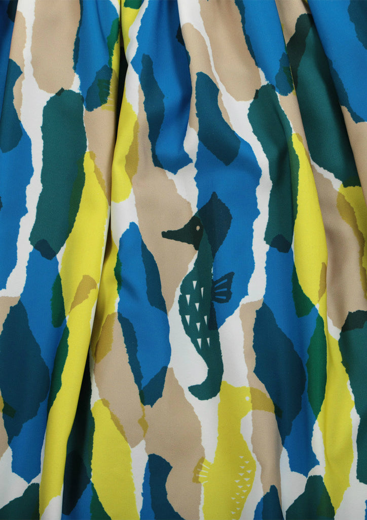 Reversible Multi Pattern Skirt (Seahorse)