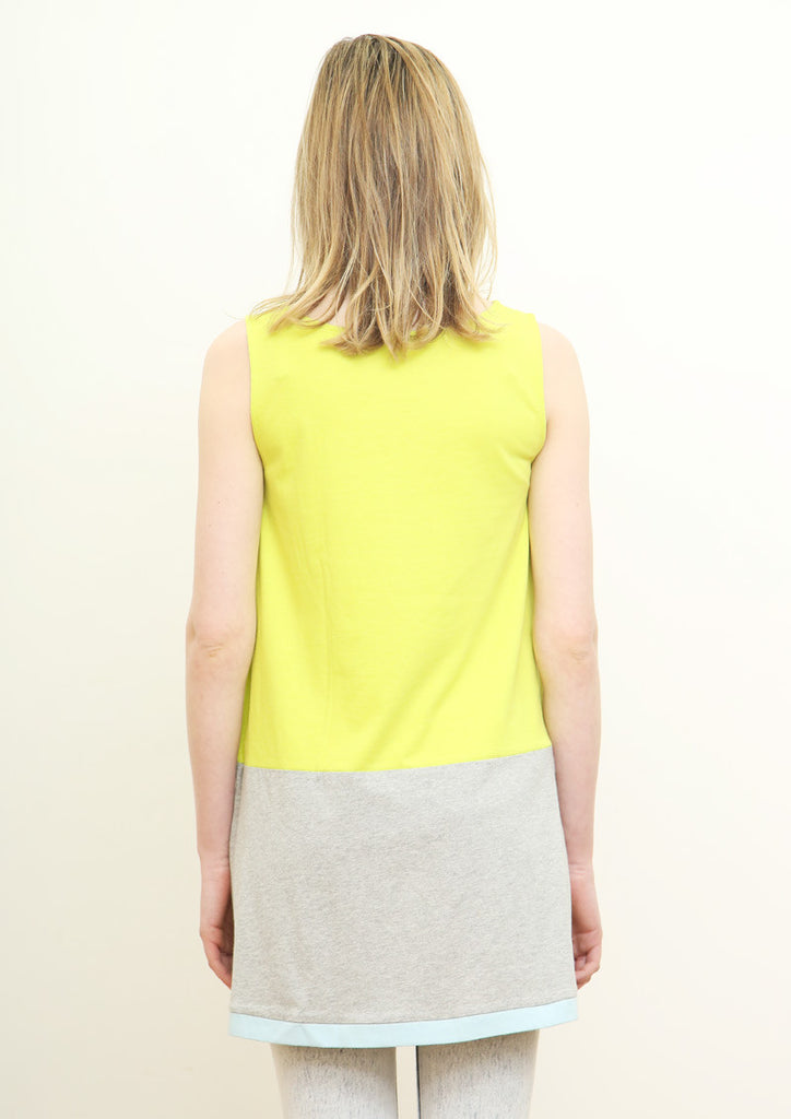 Bicolor Tank One-Piece A (yellow)