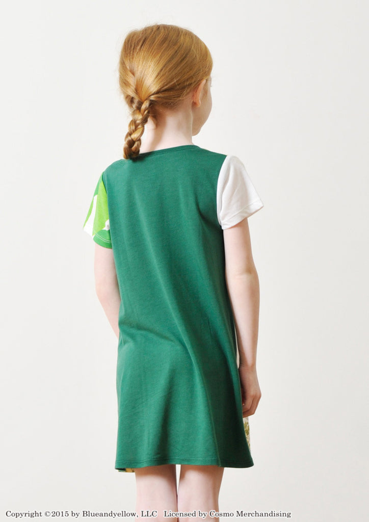 Magic Lizard (Leo Lionni Round Neck Short Sleeve One-Piece)
