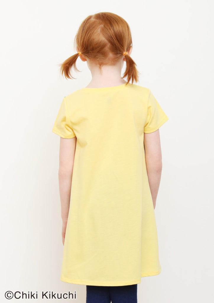 Tanpopo (Chiki Kikuchi A Line Short Sleeve One-Piece)