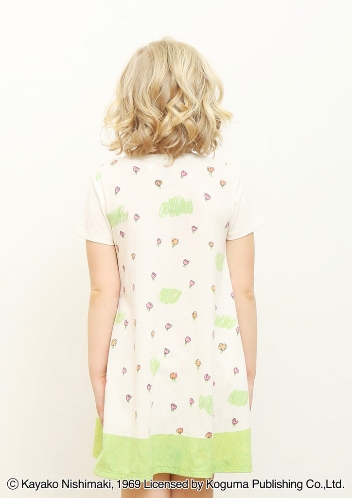 Sewing Machine (Watashi no One Piece A Line Flare Short Sleeve One-Piece)