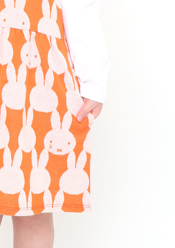 miffy Jacquard Jumper Skirt (miffy_miffy Pattern)