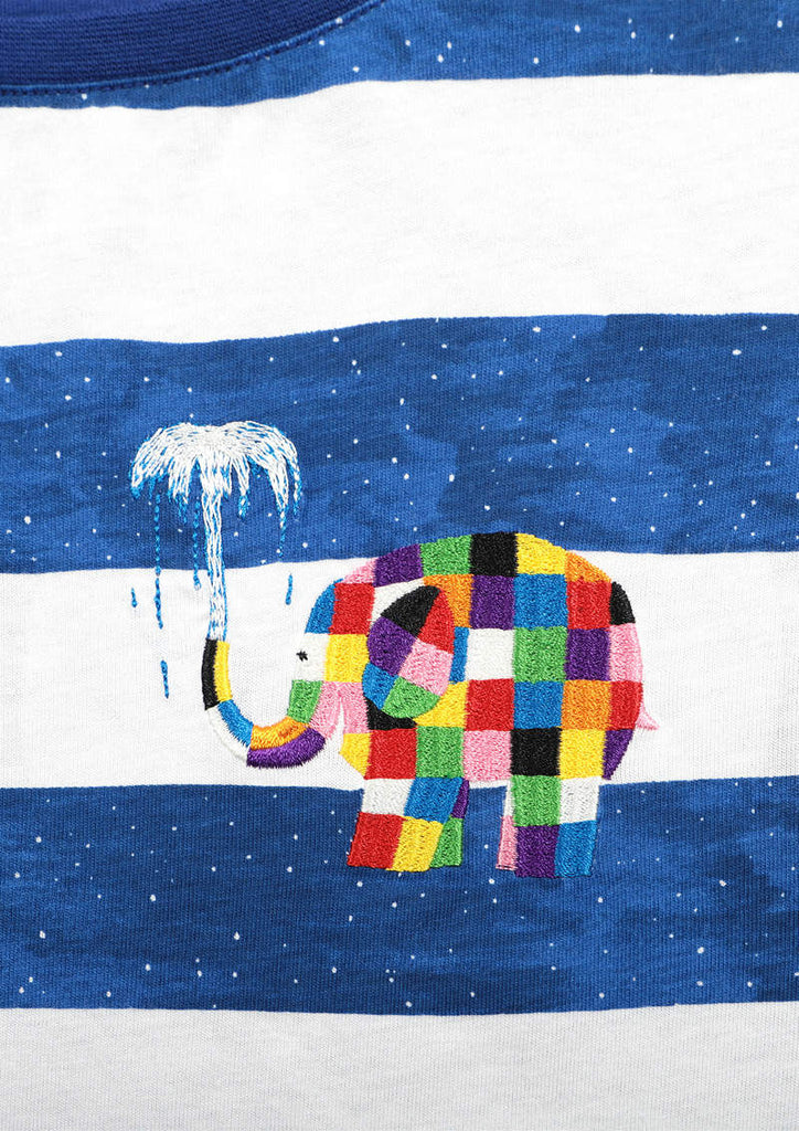 ELMER THE PATCHWORK ELEPHANT Box One-Piece A (ELMER THE PATCHWORK ELEPHANT_Elmer and the Whales)
