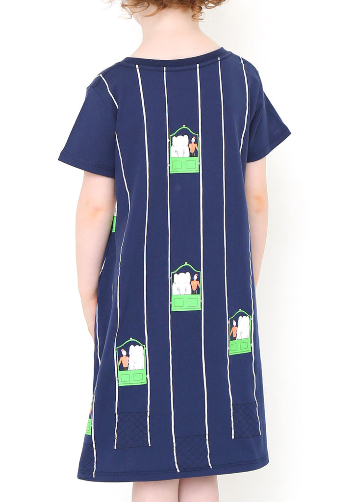 BABAR A Line Short Sleeve One-Piece (BABAR_Elevator)