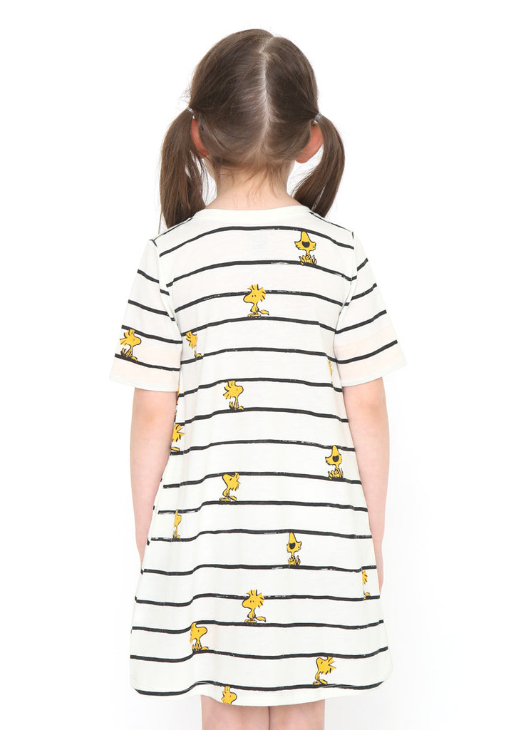 Peanuts Short Sleeve One-Piece (Peanuts_Woodstock Pattern)