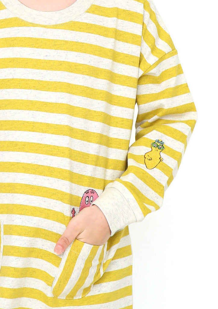 BARBAPAPA Long Sleeve Tee (BARBAPAPA_Barbapapa Family)