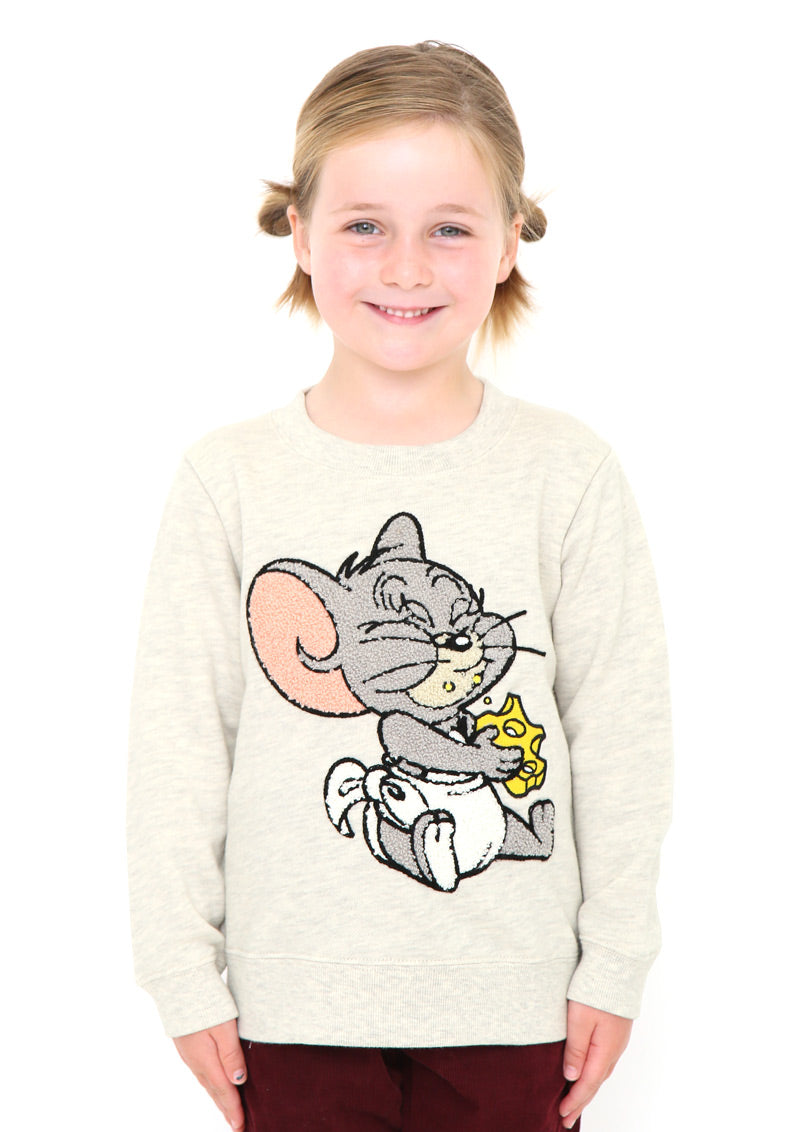 Tom and Jerry Long Sleeve Sweat (Tom and Jerry_Tuffy)