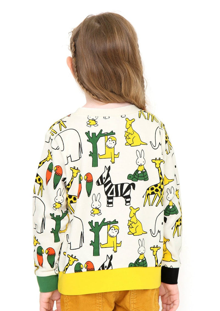 miffy Long Sleeve Sweat (miffy_miffy and Animals)
