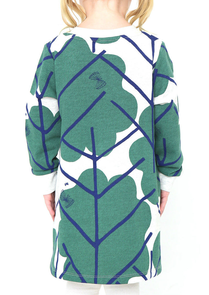 Multi Pattern Long Sleeve Sweat One-Piece (Coming of Spring)
