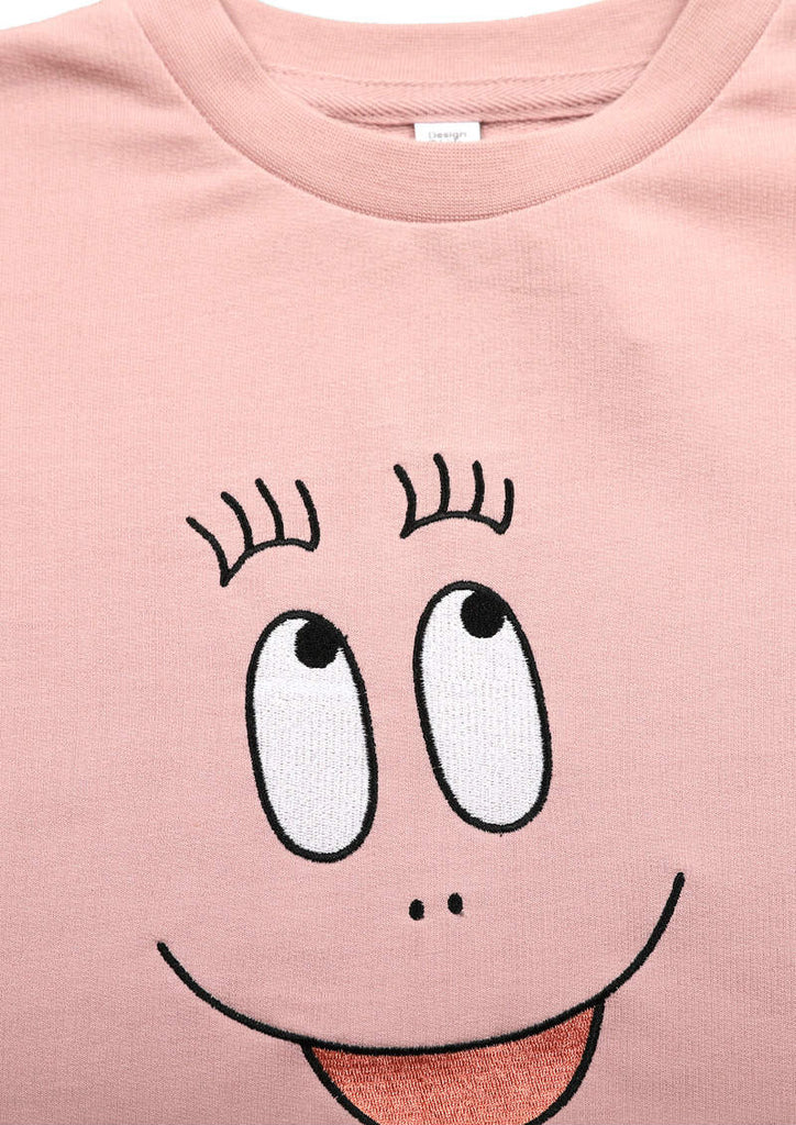 BARBAPAPA Long Sleeve Sweat One-Piece (BARBAPAPA_Barbapapa and Lolita)