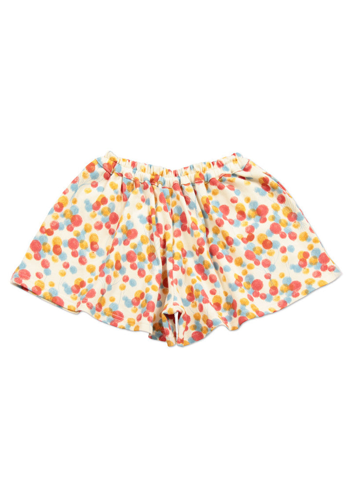 Jersey Cloth Culottes Skirt (Full of Balloons)