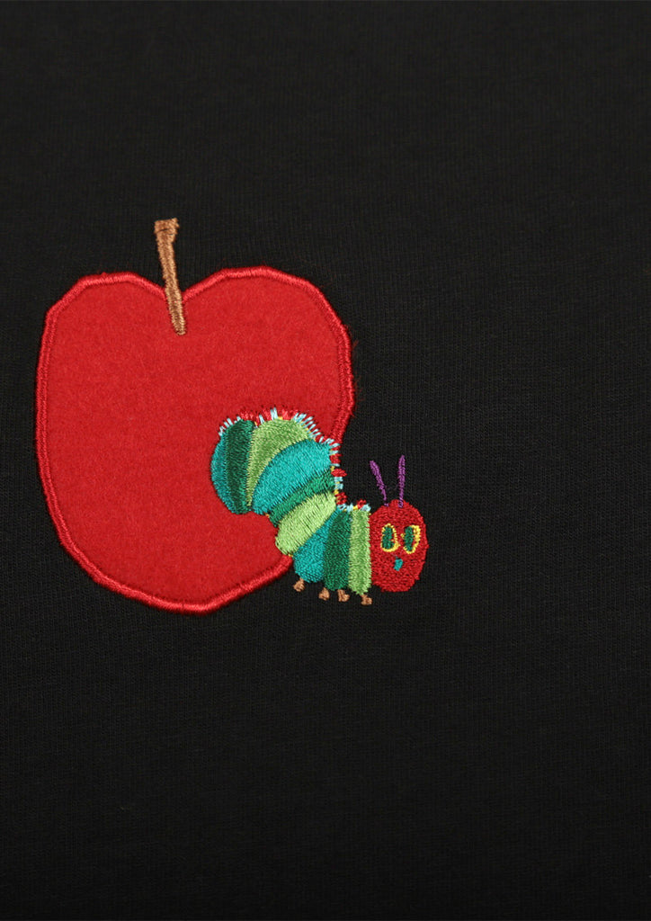 Eric Carle_Red Apple Embroidery