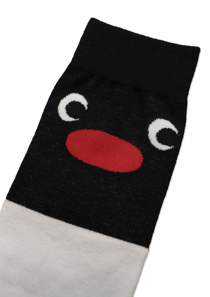Pingu Long Socks (Pingu_Pingu Face) - for kids
