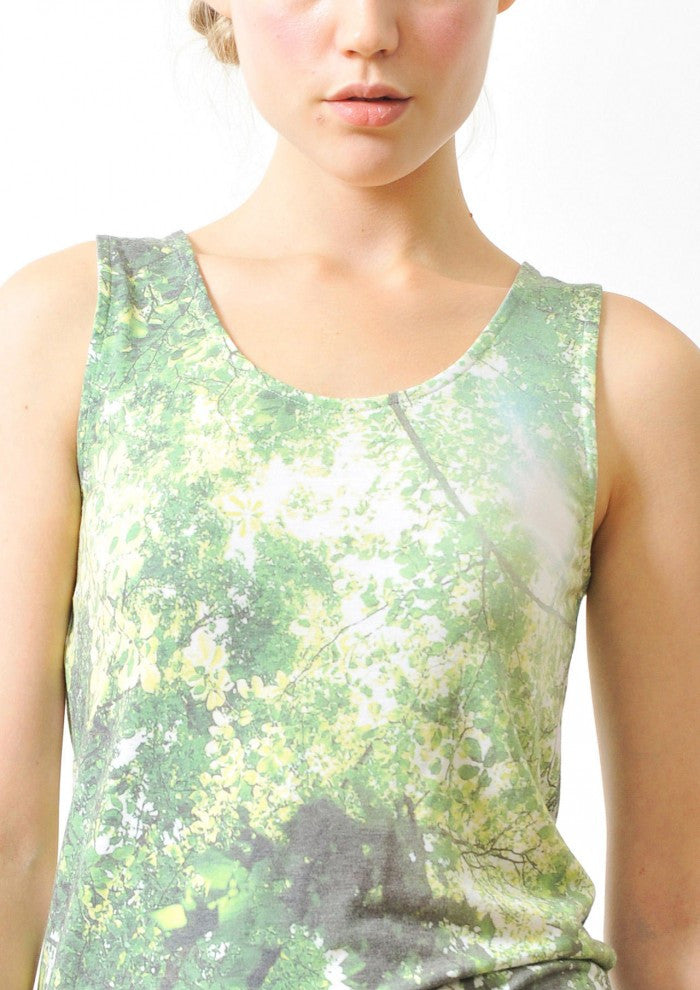 Nature Photo Tank Top(Komorebi)