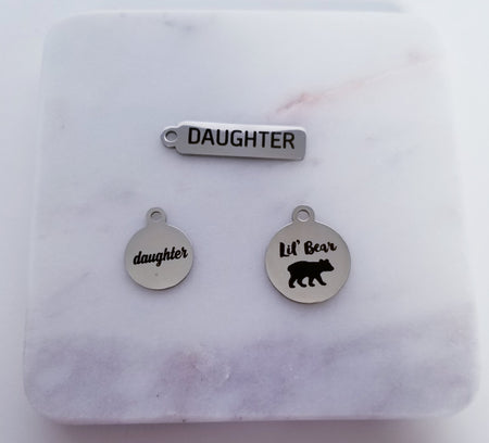 Daughter Charms