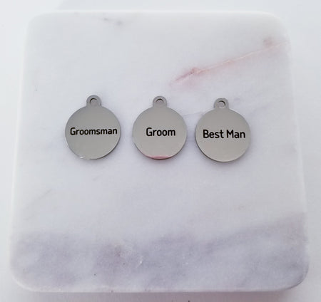 Wedding- Groom Charms