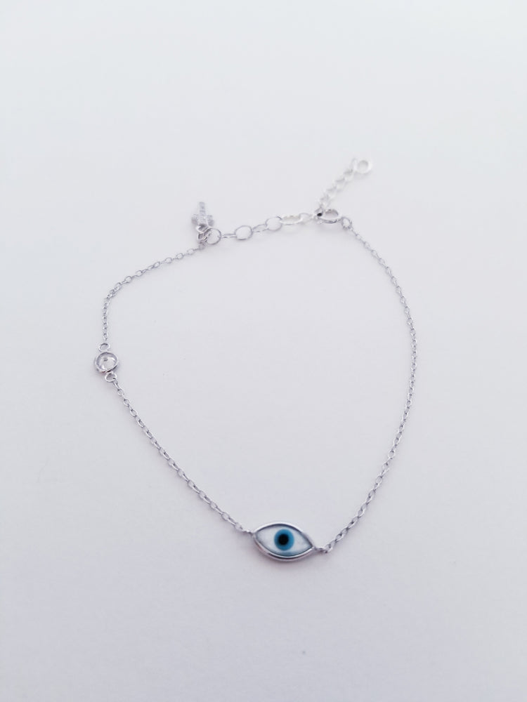 Evil Eye, Cross Bracelet
