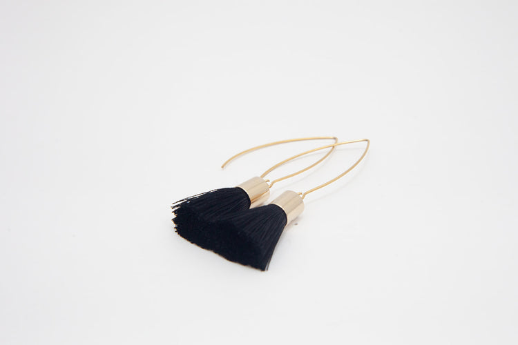 Tassle Earrings- Gold