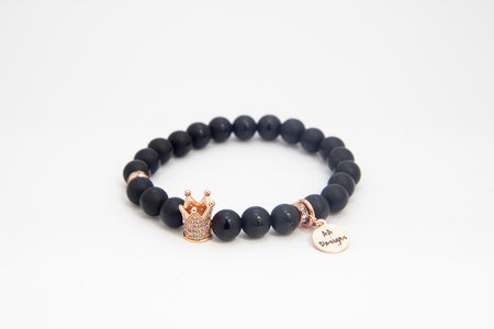 Royal Onyx - Rose Gold