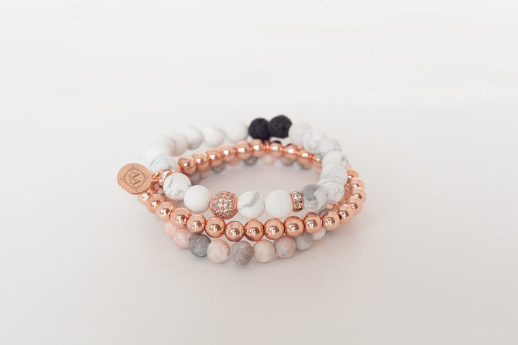 Protection Stack- Rose Gold